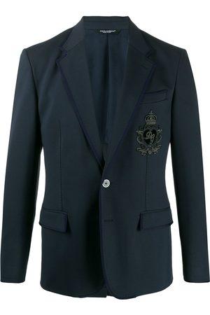 Dolce & Gabbana Blazer con parche DG