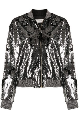 Golden Goose Zip-up sequinned jacket