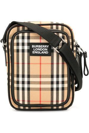 Burberry Bandolera con motivo Vintage Check