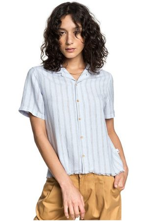 Quiksilver Womens - Camisa Envolvente de Corte Súper Largo y Manga Larga para Mujer