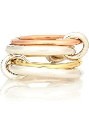 SPINELLI KILCOLLIN Anillos entrelazados Hyacinth de oro 18 ct y plata