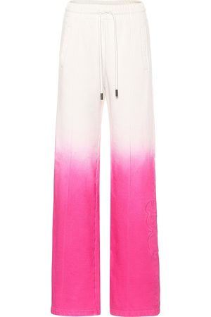 OFF-WHITE Pantalones de chándal de algodón