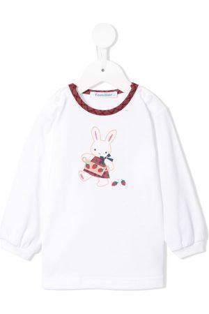 Familiar Camiseta con motivo de conejo