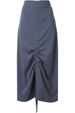 GOEN.J Ruched midi skirt