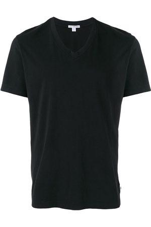 James Perse Camiseta con cuello en V