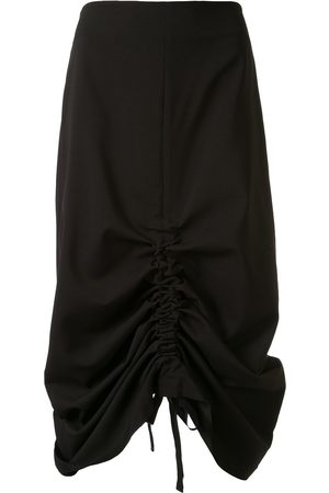 GOEN.J Adjustable ruched midi skirt