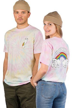 Rip N Dip Double Nerm Rainbow T-Shirt tiedye