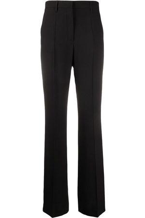 Prada Pantalones de vestir de talle alto