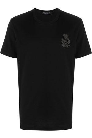 Dolce & Gabbana Camiseta con insignia del logo