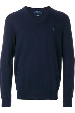 Polo Ralph Lauren Jersey con cuello en V con logo