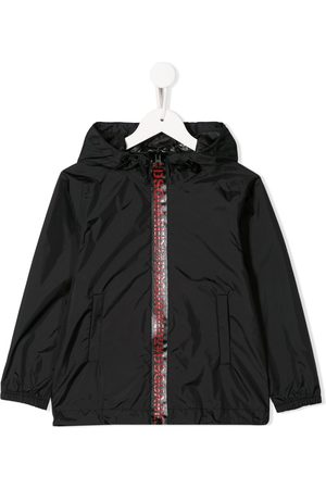 Dsquared2 Logo-trim rain jacket