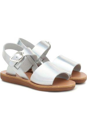 Ancient Greek Sandals Sandalias Little Kaliroi de piel