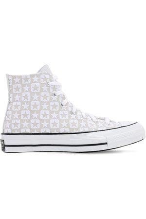 """Converse   Mujer Sneakers Altas """"chuck 70"""" De Lona Flocada 9"""