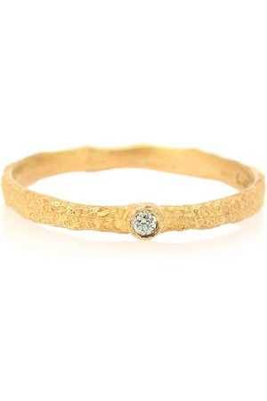 Orit Elhanati Anillo Roxy Love de oro de 18 ct con diamante verde