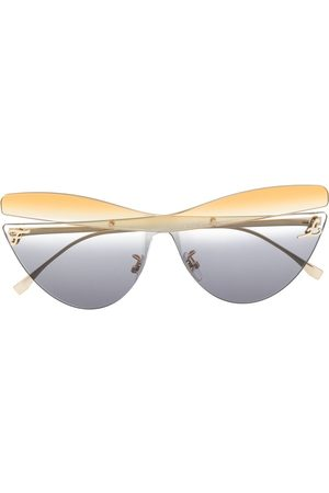 Fendi Gafas de sol con montura cat eye