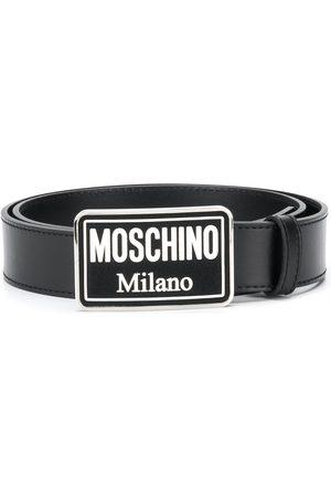 Moschino Cinturón con hebilla esmaltada