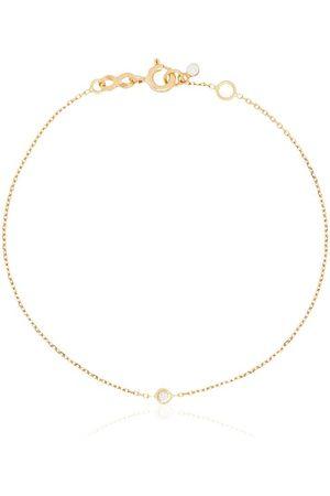 GIGI CLOZEAU Pulsera Dot en oro amarillo de 18kt con diamantes