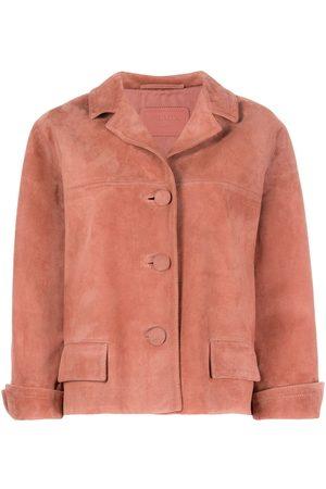 Prada Cropped suede jacket