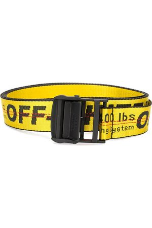 OFF-WHITE CARRYOVER INDUSTRIAL BELT YELLOW NO COLO