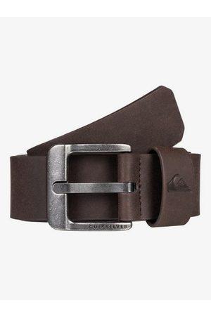 Quiksilver Hombre Cinturones - Main Street - Cinturón de Cuero Sintético