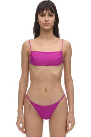 Stella McCartney   Mujer Top De Bikini Con Tirantes Espagueti M