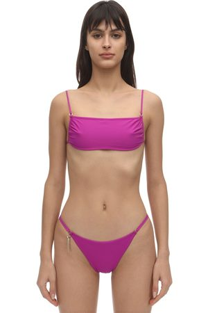 Stella McCartney   Mujer Top De Bikini Con Tirantes Espagueti S