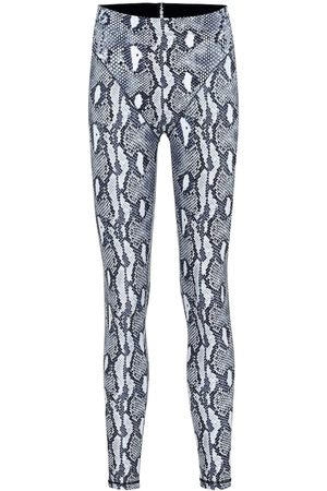 Adam Selman Sport Leggings Plunge estampados