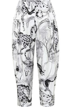 Stella McCartney Pantalones Rosalinda de seda