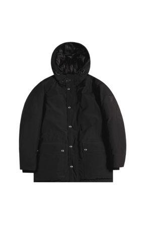 Belstaff Pittfield Down Parka Black Colour: BLACK, Size: LARGE