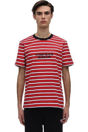 Guess | Hombre Camiseta De Algodón Jersey Con Logo /multi S