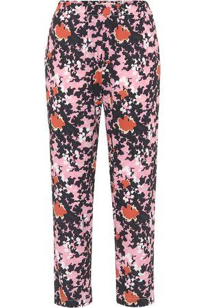 Marni Pantalones florales de tiro alto