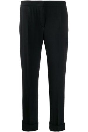 Prada Pantalones de vestir con dobladillo vuelto