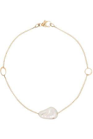 MELISSA JOY MANNING Pulsera en oro amarillo de 14kt con perla