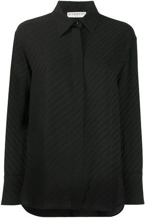 Givenchy Camisa con estampado de cadenas