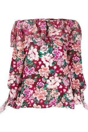 FAITH CONNEXION Vestido estilo túnica con estampado floral