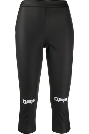 OFF-WHITE ACTIVE CAPRI PANT BLACK WHITE
