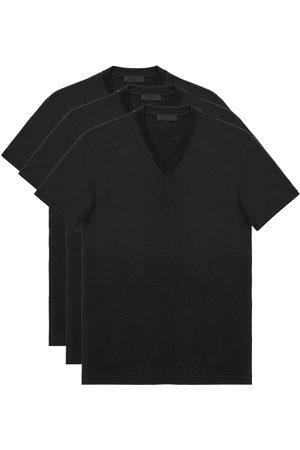 Prada Pack de tres camisetas tipo jersey
