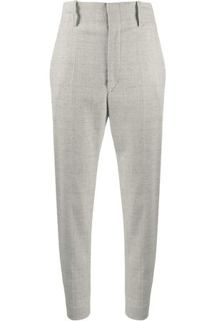 Isabel Marant Checkered tailored trousers