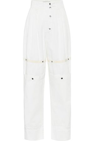 Etro Pantalones ajustados de tiro alto