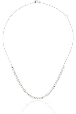 Dana Rebecca Designs Collar con cadena en oro blanco de 14kt con diamante