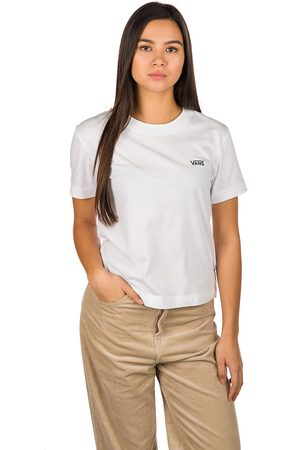 Vans Junior V Boxy T-Shirt blanco