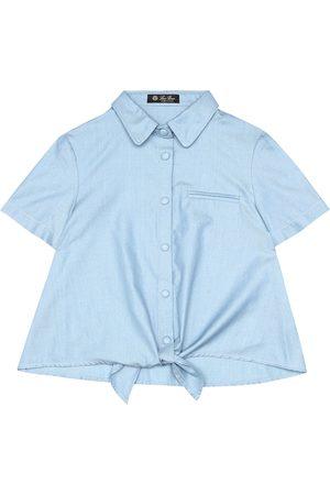 Loro Piana Camisa de cambray de algodón