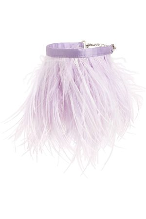The Attico | Mujer Ostrich Feather Anklet Unique