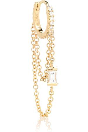 Maria Tash Arete único Diamond Eternity de oro de 18 ct con diamantes