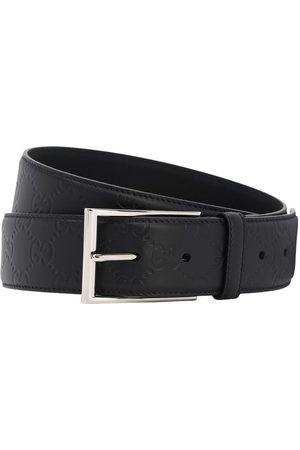 Gucci | Hombre Cinturón De Piel Con Logo 40mm 85