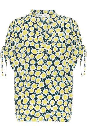 Diane von Furstenberg Blusa Grania de seda floral