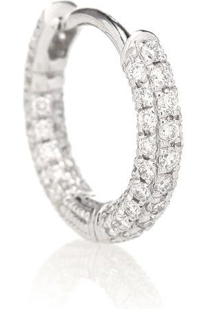 Maria Tash Arete único de oro blanco de 18 ct con diamantes