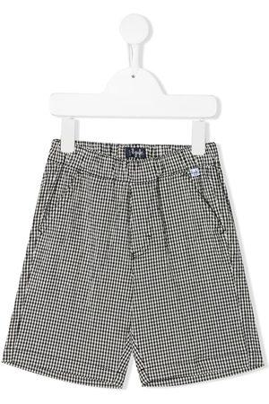 Il gufo Gingham print bermuda shorts