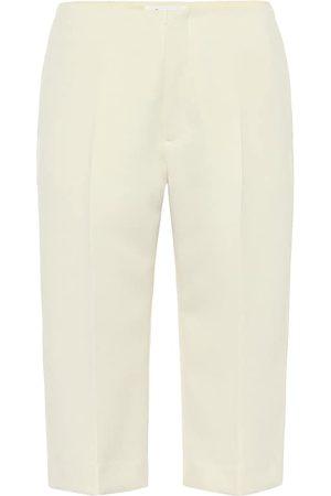 Maison Margiela Shorts ajustados de algodón