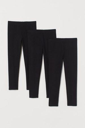 H&M Pack de 3 leggings de punto